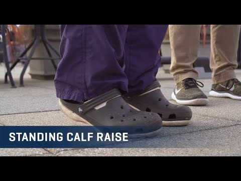 Embedded thumbnail for Standing Calf Raise Exercise Video