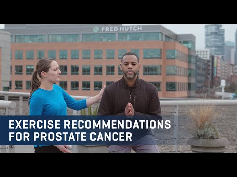 Embedded thumbnail for Prostate Cancer Exercise Video