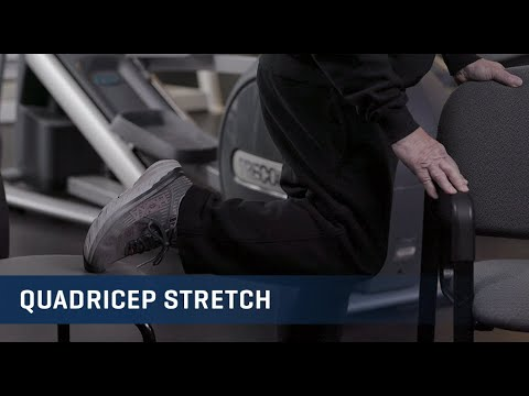 Embedded thumbnail for Quadricep Stretch Exercise Video