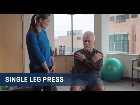 Embedded thumbnail for Single Leg Press Exercise Video