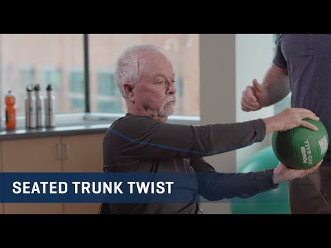 Embedded thumbnail for Seated Trunk Twist Exercise Video