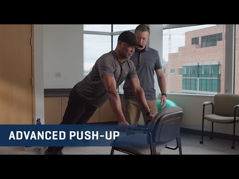 Embedded thumbnail for Advanced Push-up Exercise Video