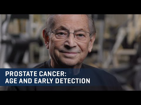 Embedded thumbnail for Beyond Prostate Cancer—Age & Early Detection